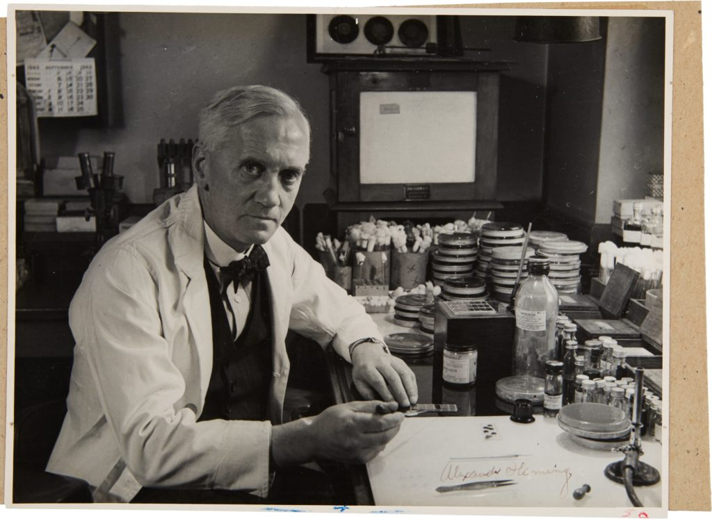 alexander-fleming-signed-photograph
