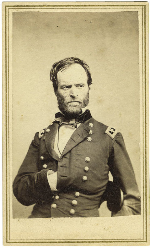 gen-william-tecumseh-sherman-four-scarce-cartes-de-visite