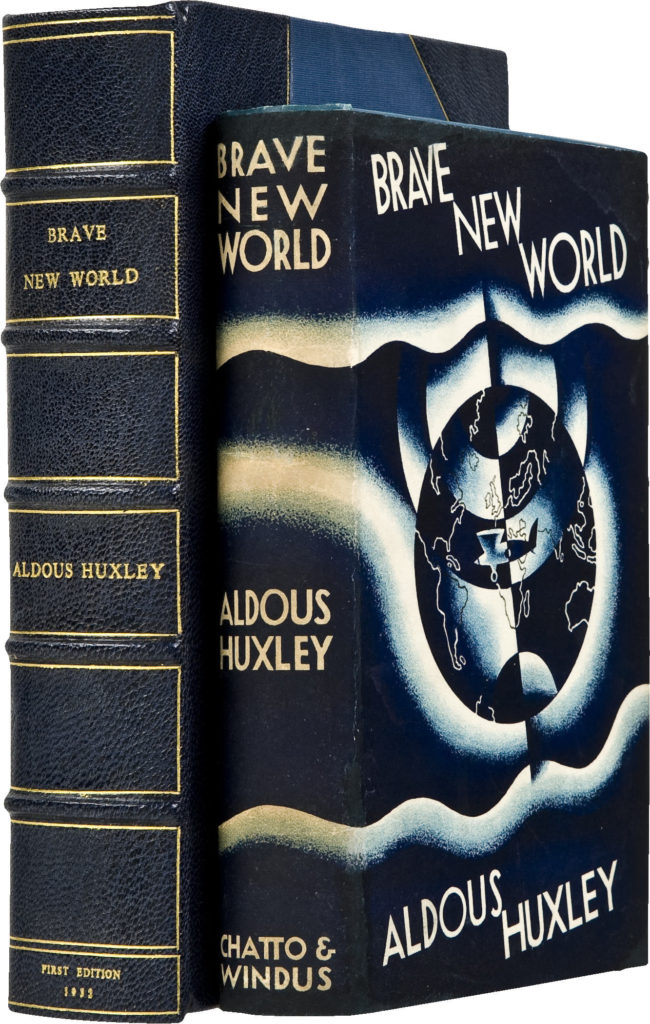 aldous-huxley-brave-new-world-london-chatto-windus-1932