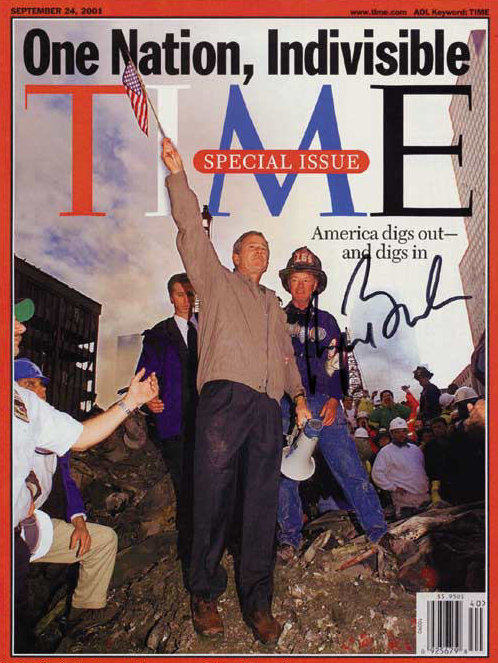 sept-24-2001-edition-of-time-magazine-signed-by-president-george-w-bush