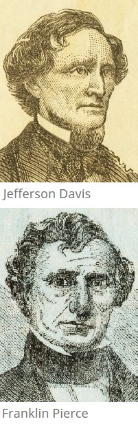 jefferson-davis-and-franklin-pierce