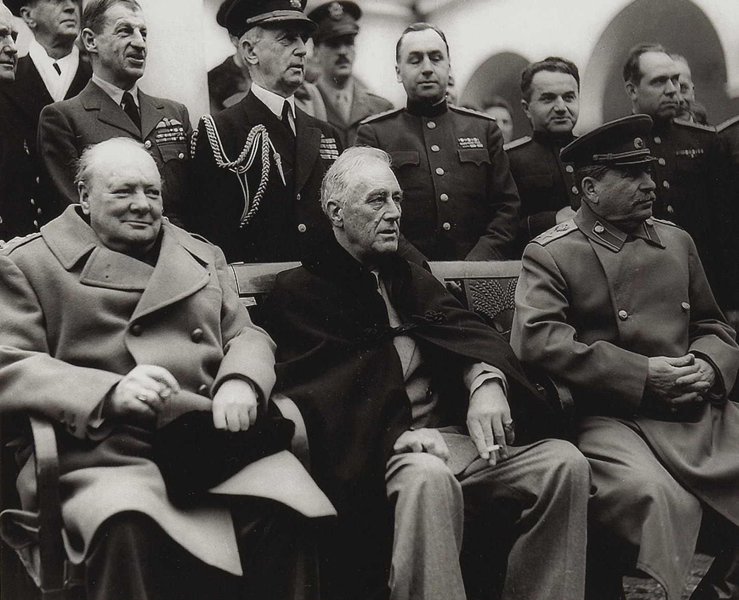 Yalta Conference: a meeting of future winners 45