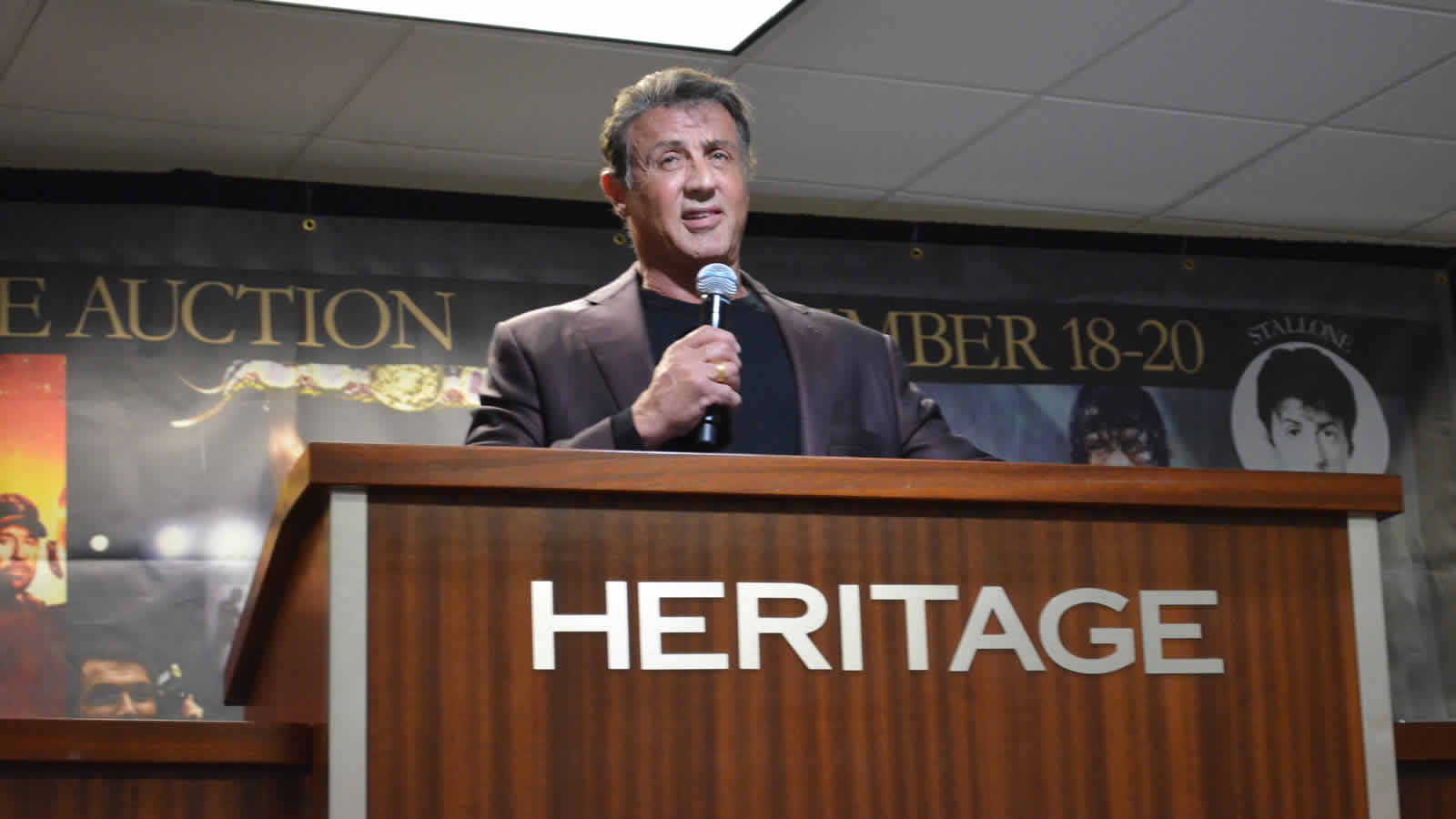 Stallone - The Auction - The Intelligent Collector