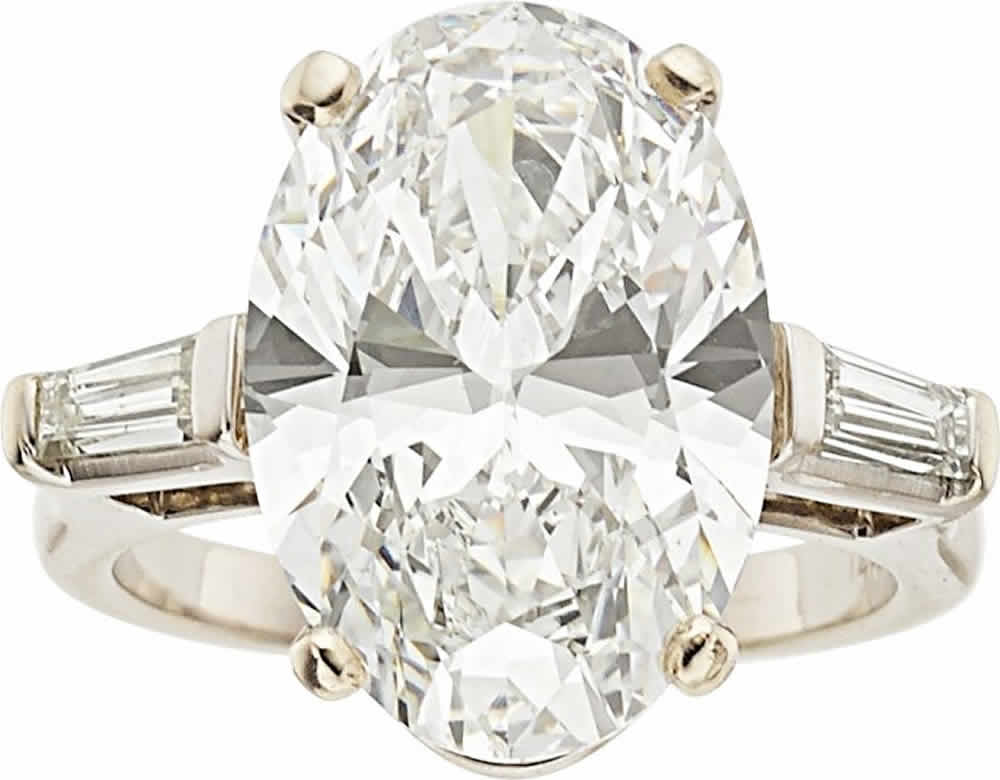 J-Diamond, White Gold Ring