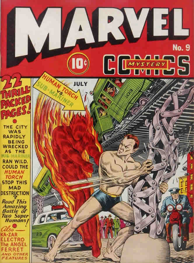 Marvel Mystery Comics No. 9