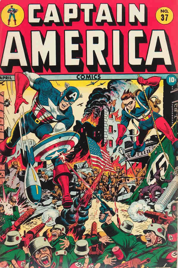 Captain America Comics No. 37