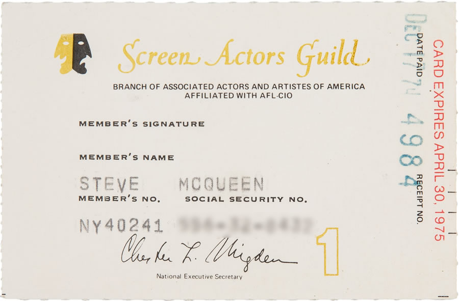 Screen Guild Card