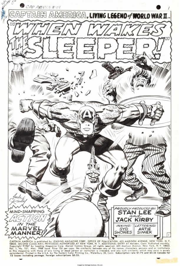 Jack Kirby - Syd Shores