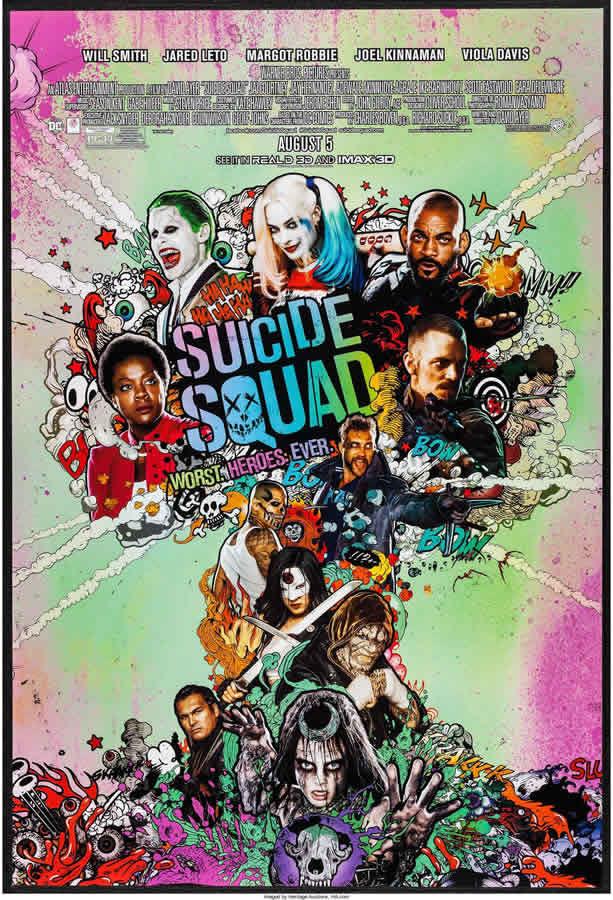 Suicide Squad One Sheet