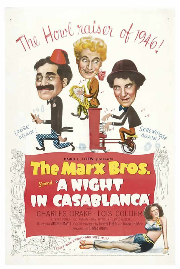 1946 Marx Brothers Poster