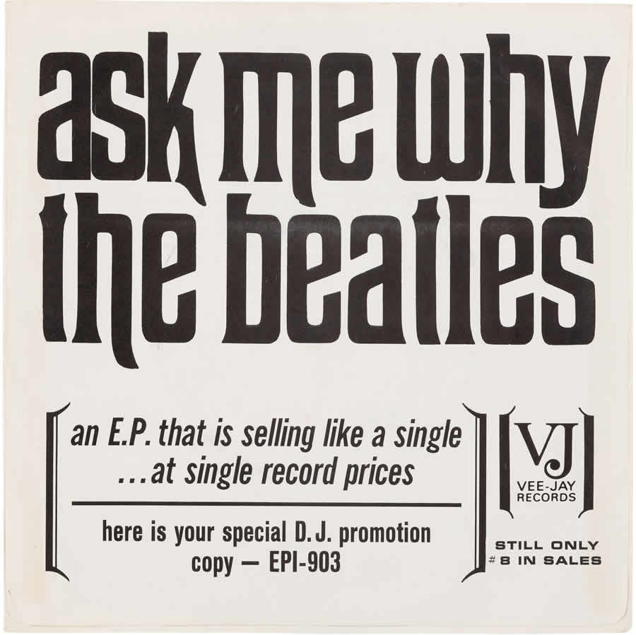 Beatles Ask Me Why