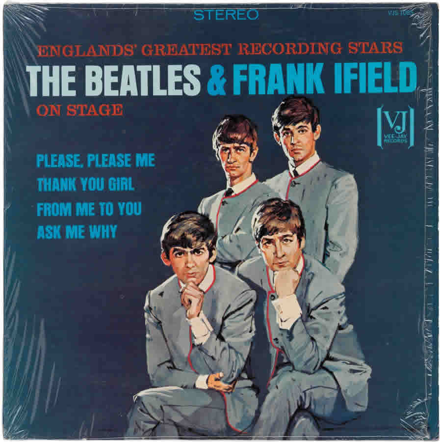 Beatles Frank Ifield On Stage