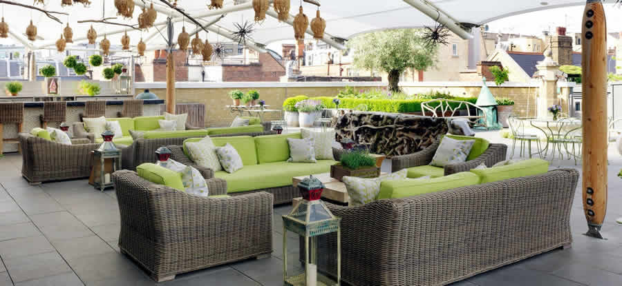 HOTELS Ham Yard Roof Terrace