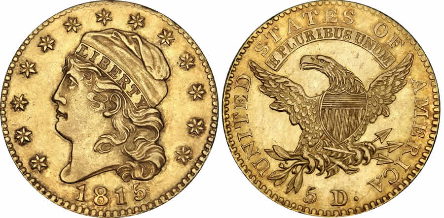 Matthew Stickney's 1815 Half Eagle