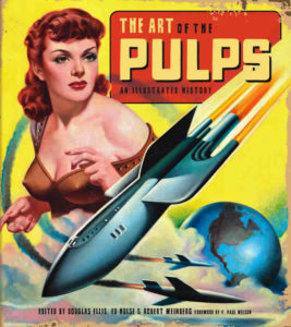 book cover - The Art of the Pulps