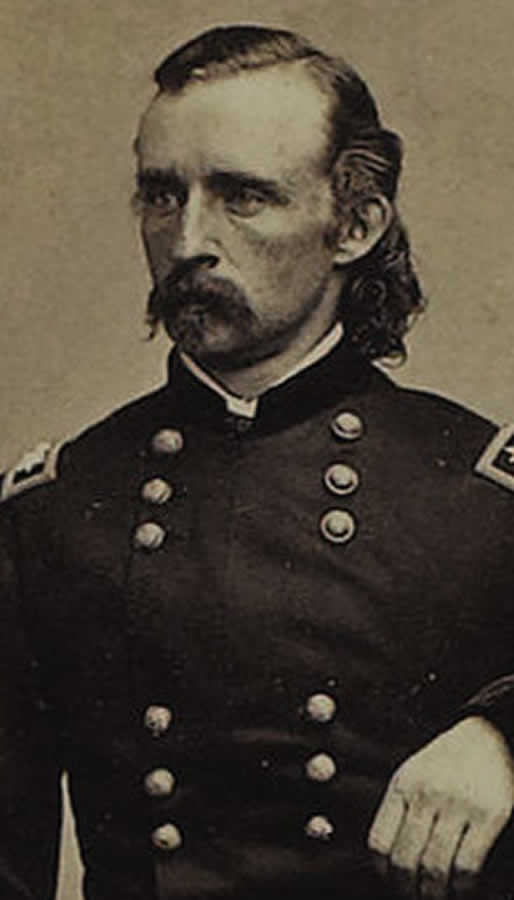 Custer portrait