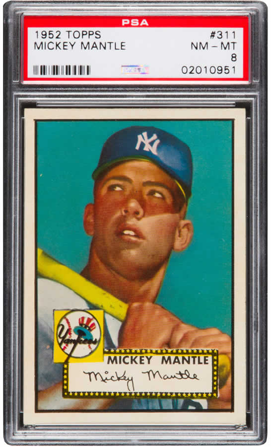 Mantle Topps Card