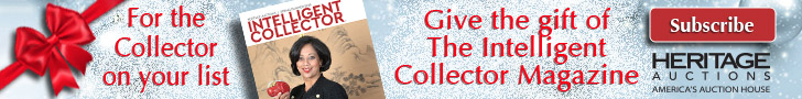 Give the gift of The Intelligent Collector Magazine to the collector in your life!